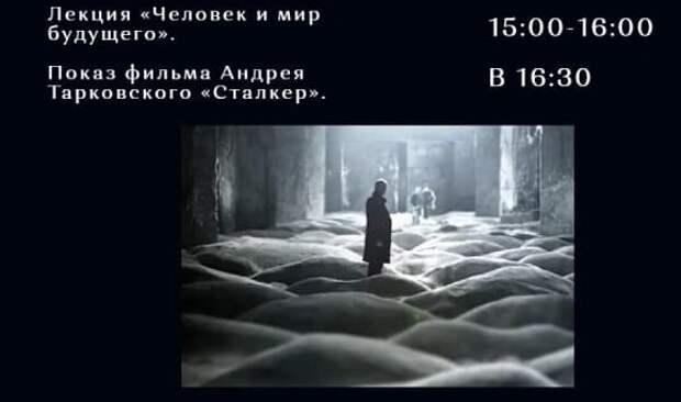 В галерее «Ходынка» 24 апреля пройдет лекция от литературоведа и показ фильма «Сталкер»