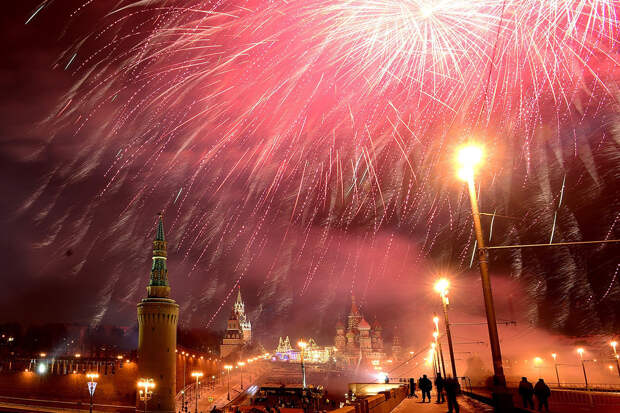Как иностранцы встречали (или пытались встретить) Новый Год на Красной площади