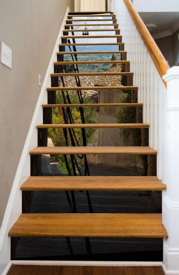Невероятный декор лестниц!