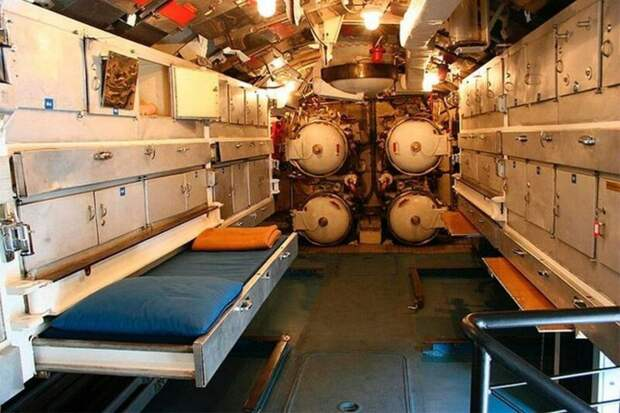 Место отдыха торпедиста на итальянской Enrico Toti армия, подводные лодки, флот