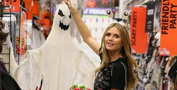 Хайди Клум уже готовит костюм для Хеллоуина, и это будет страшно