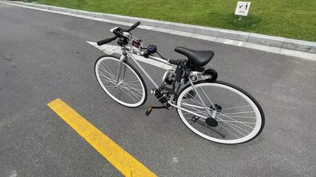Представлен беспилотный велосипед Huawei