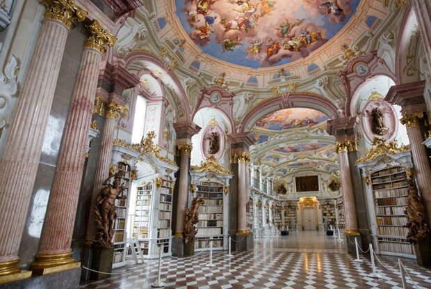 Admont Abbey в стиле барокко