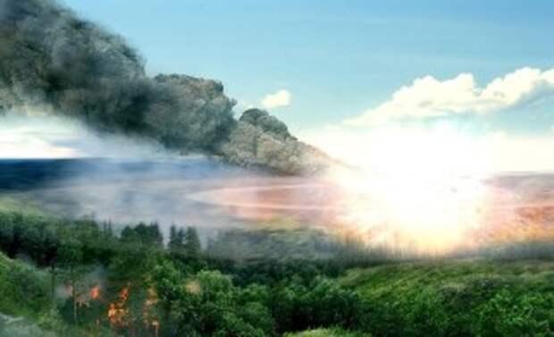 Фото: Тунгусский метеорит