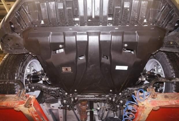 Стальная защита двигателя: почему ее можно ставить не на все машины