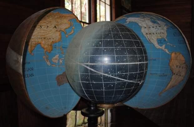 Глобус вогнутой Земли