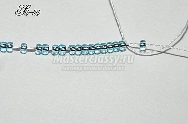 сережки-кисточки из бисера
