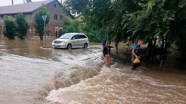 """Жители затопленного тайфуном """"Кросса"""" Приморья учатся извлекать пользу от Особо Опасного Природного Явления"""