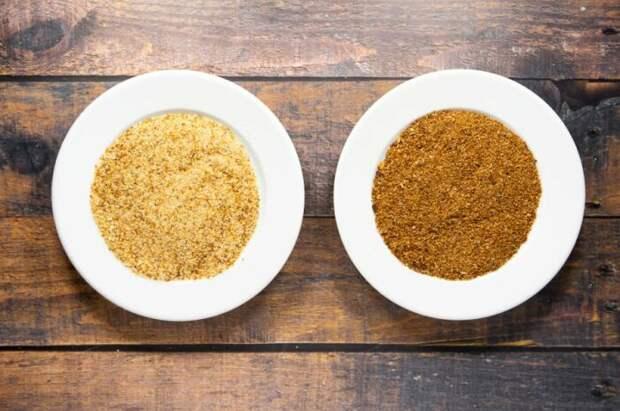 Панировочные сухари хороши не только для котлет, но и для присыпки формы для торта. /Фото: theflourhandprint.com