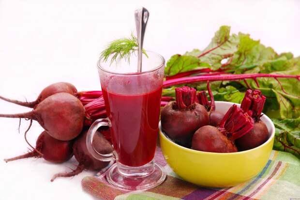 Свекольный сок – мощное средство очистки организма