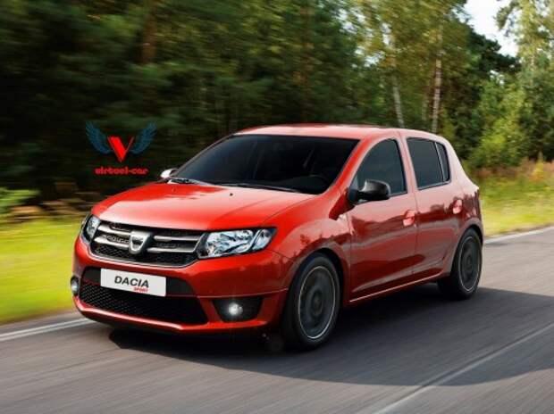 Renault подготовит для России мощный хэтчбек Sandero