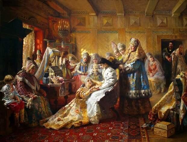 Под венец, 1884