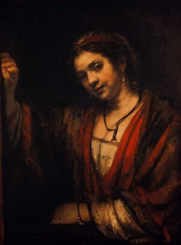Портрет Хендрикье Стоффелс, Рембрандт. / Фото: google.com.