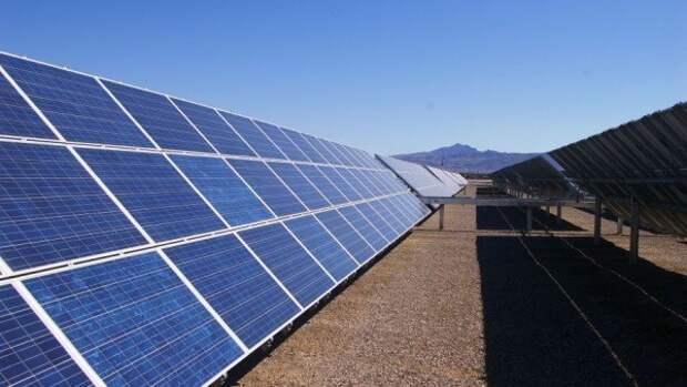 Крупнейшая в РФ солнечная электростанция запущена с участием Владимира Путина