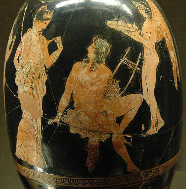 Афродиты и Адониса.-410 г. до н.э.