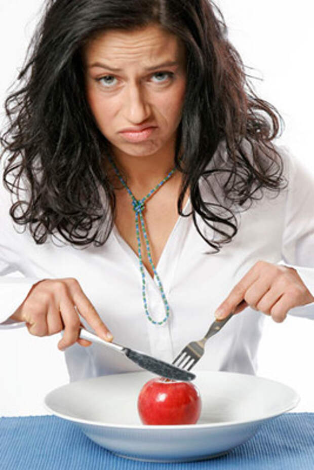 Мысли нашего организма во время жесткой диеты....
