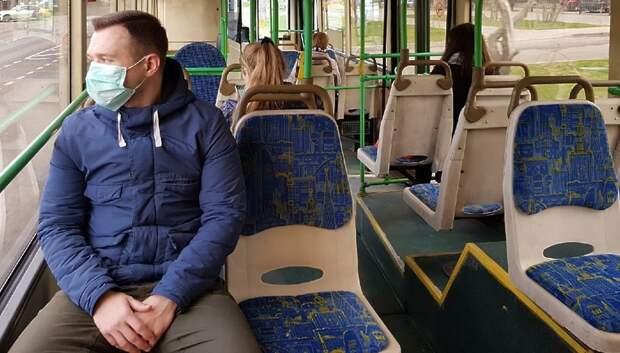 Свыше 97% пассажиров общественного транспорта Подмосковья надели маски в четверг