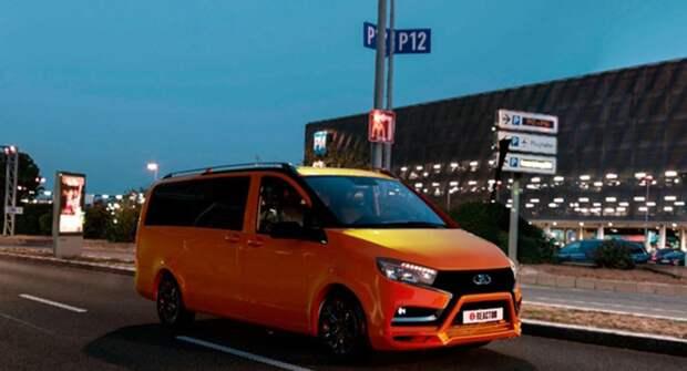 Представлен новый микроавтобус Lada Future