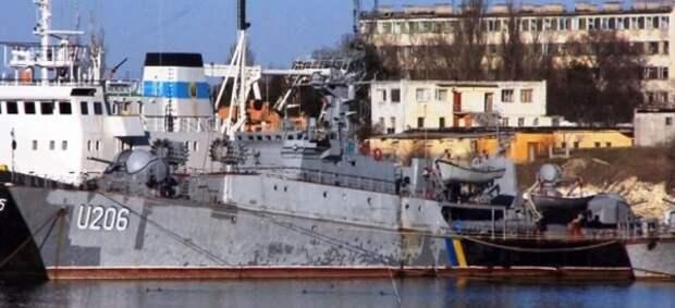 Стало известно, почему Украина не забирает брошенные в Крыму корабли
