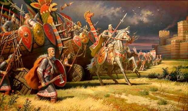 Война Атлантиды против славян