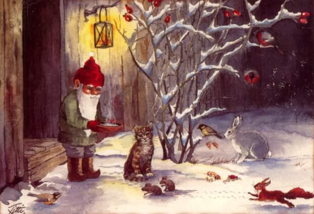 Как живут домовые зимой и почему о них надо заботиться