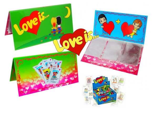 LOVE IS... Лучший подарок любимому человеку!