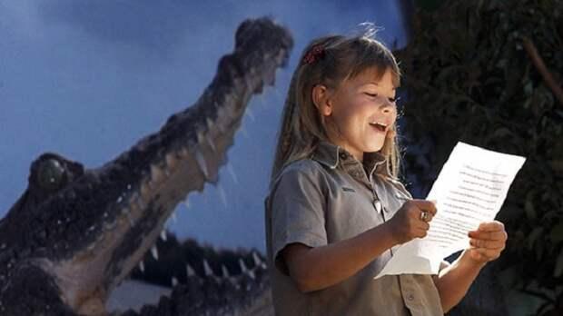 Помнишь охотника за крокодилами Стива Ирвина? Смотри, как сейчас выглядит его подросшая дочь!