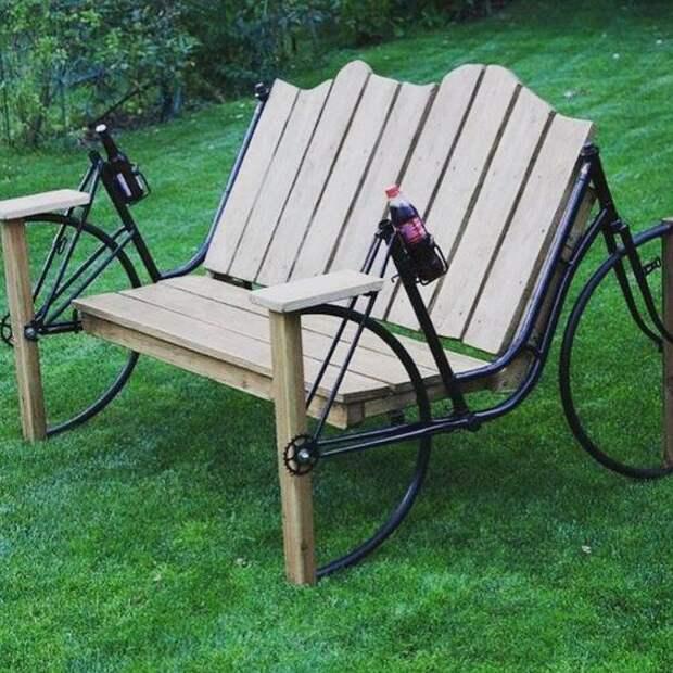 что сделать из велосипеда рамы