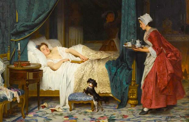 Раньше вот как было: у мужа своя опочивальня, у жены своя – и вот тебе долгая, счастливая жизнь
