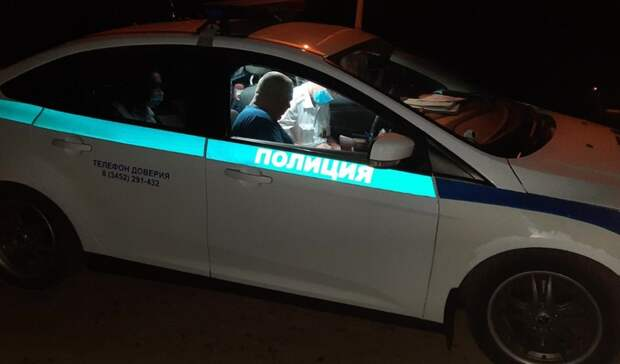 Пьяный водитель изТюмени поменялся местами сженой, чтобы избежать ответственности