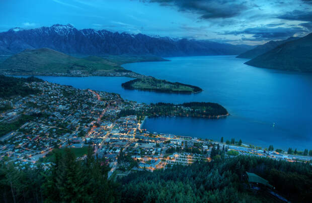 Queenstown from Above-X2