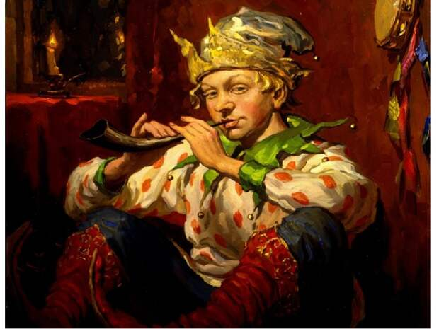 Молодой скоморох./Фото: infourok.ru