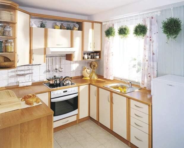 Удобные идеи дизайна кухни на 6 квадратных метров