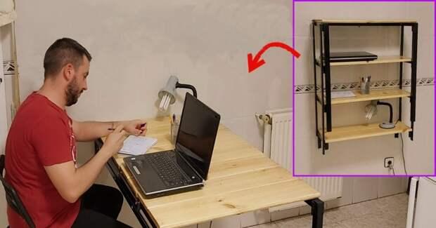 Мебель-трансформер для маленьких комнат своими руками 2 в 1