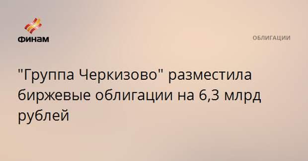 """""""Группа Черкизово"""" разместила биржевые облигации на 6,3 млрд рублей"""