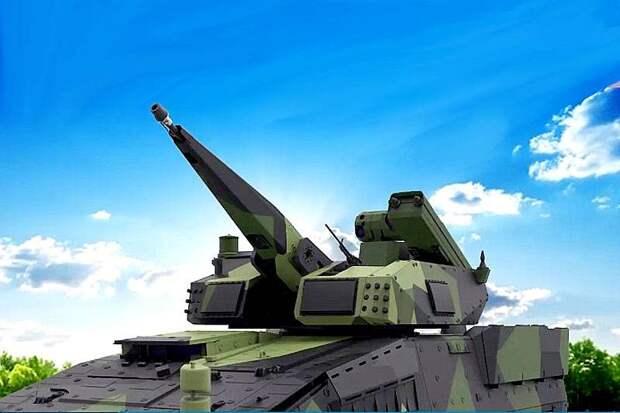 Боевой модуль противовоздушной обороны Rheinmetall Skyranger 30