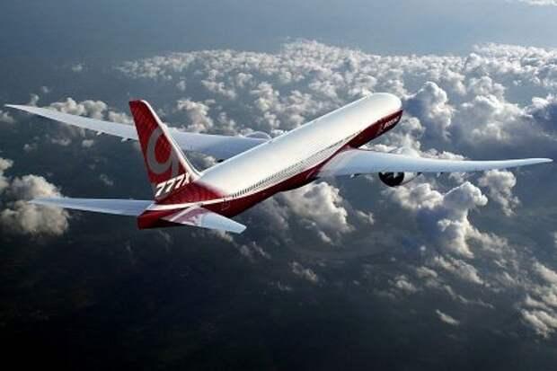 Boeing 777-9, рендер