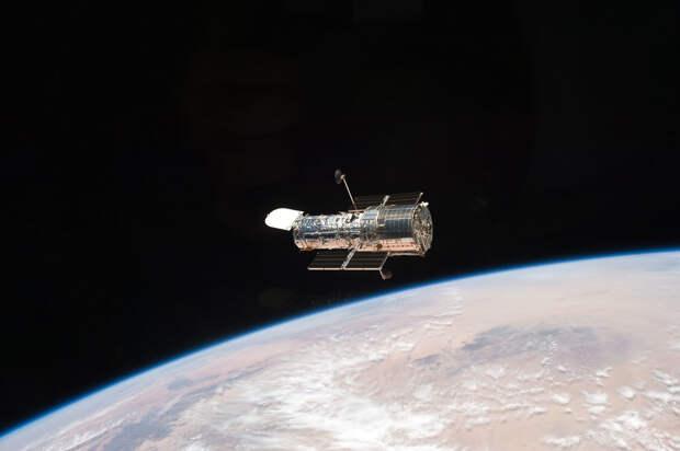 Укосмического телескопа «Хаббл» починили камеру