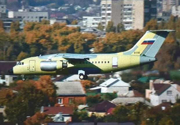 Первый полет совершил очередной Ан-148-100Е, собранный на ВАСО