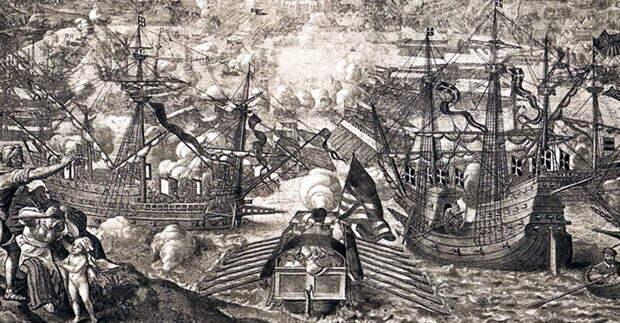 Португальский галеон «Ботафого» и мальтийская каракка в осаде Голеты (Тунис) в 1535 году - Война Священной Лиги в 1539 году: падение Кастельнуово | Warspot.ru