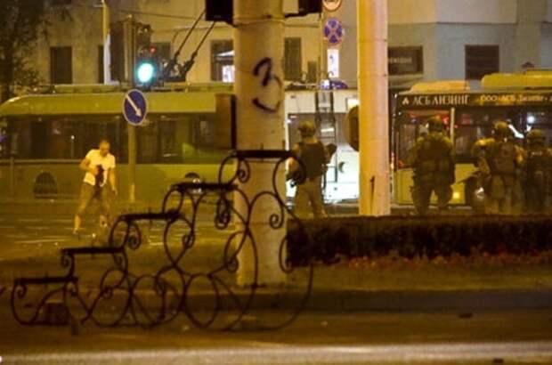 Момент убийства белоруса силовиками показали на видео