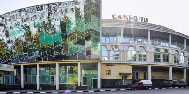 Бочкарев: Здание спортшколы «Самбо-70» в ТиНАО планируется ввести в эксплуатацию до октября / Фото: Ю.Иванко, mos.ru