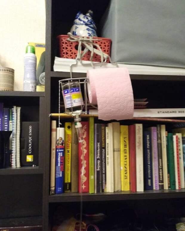 Капельница в домашних условиях голь на выдумки хитра, из говна и палок, мастера, рукожопство, смекалка
