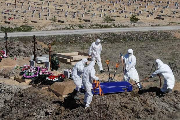 Фото с похорон умершего от коронавируса россиянина шокировали народ