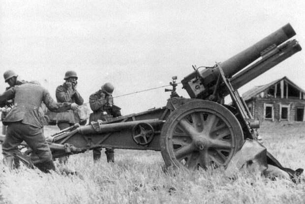 Трофейные немецкие пехотные орудия на службе в РККА