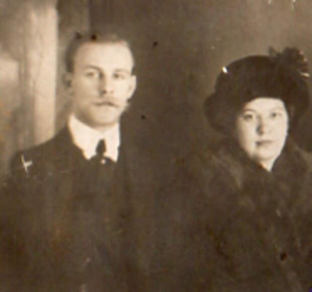 Сергей Киров и Мария Маркус