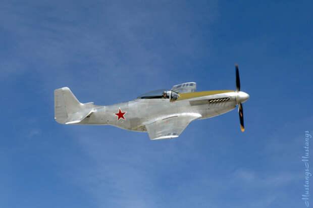 Испытано в СССР. Истребитель North American «Mustang» Mk.I