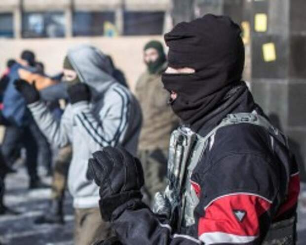 """""""Правый сектор"""" без боя сдался милиции"""