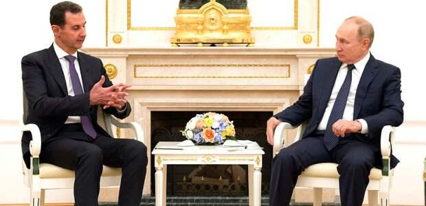 Путин и Асад озвучили посыл для США