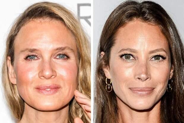 Как можно выглядеть в одном и том же возрасте с пластикой и уколами и без них
